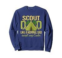Scout Dad Cub Leader Boy Camping Scouting Gift Shirts Sweatshirt Navy