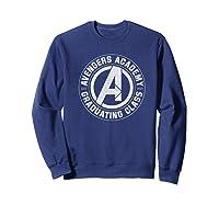 Marvel Avengers Academy Graduating Class Of 2019 Premium T-shirt Sweatshirt Navy