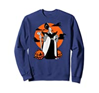 Disney Jafar The Powerful Halloween T Shirt Sweatshirt Navy