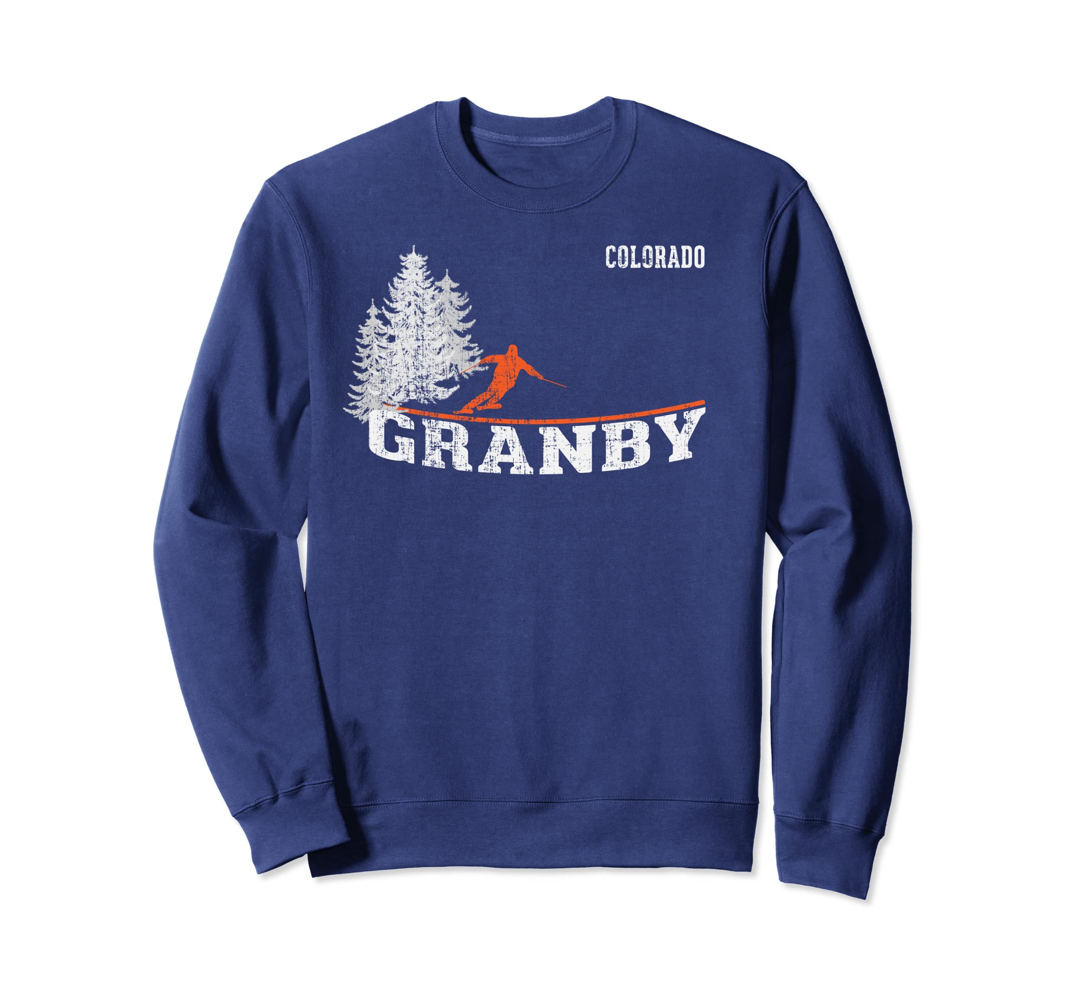1980s Style Granby CO Long Sleeve Skiing Shirt-Teehay