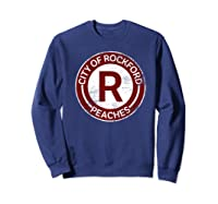 Baseball Tshirt Rockford Peaches Shirt Feminist Graphic Tees Sweatshirt Navy
