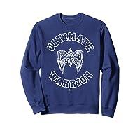 Ultimate Warrior Mask 1 Color Shirts Sweatshirt Navy