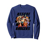 Disney Comic Crew T Shirt Sweatshirt Navy