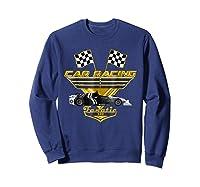 Car Racing Fanatic 500 Miles T Shirt Golden Edition Sweatshirt Navy