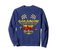 Car Racing Fanatic 500 Miles T Shirt Red Car Edition Sweatshirt Navy