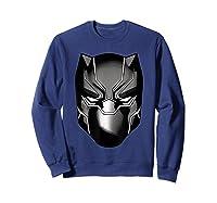 Black Panther Mask Shirts Sweatshirt Navy