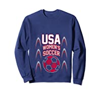 2019 Soccer Usa Team France Cup Tournat Shirts Sweatshirt Navy