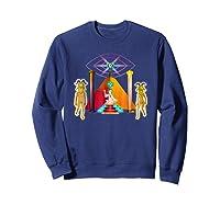 Rick And Morty Holy Rick Shirts Sweatshirt Navy