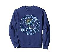 And I Think To Myself What A Wonderful World Shirts Sweatshirt Navy
