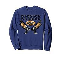 Hasbro Nerf Blaster Weekend Warriors T-shirt Sweatshirt Navy