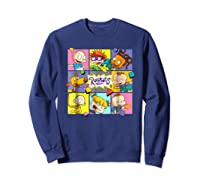 Rugrats Retro Box T-shirt Sweatshirt Navy