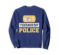 Thermostat Police T-shirt Sweatshirt Navy