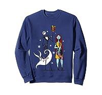 Disney Nightmare Gift T Shirt Sweatshirt Navy