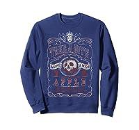 Snow Take A Bite Vintage Poster Shirts Sweatshirt Navy