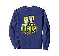 Disney Zombies Zomb5 T Shirt Sweatshirt Navy
