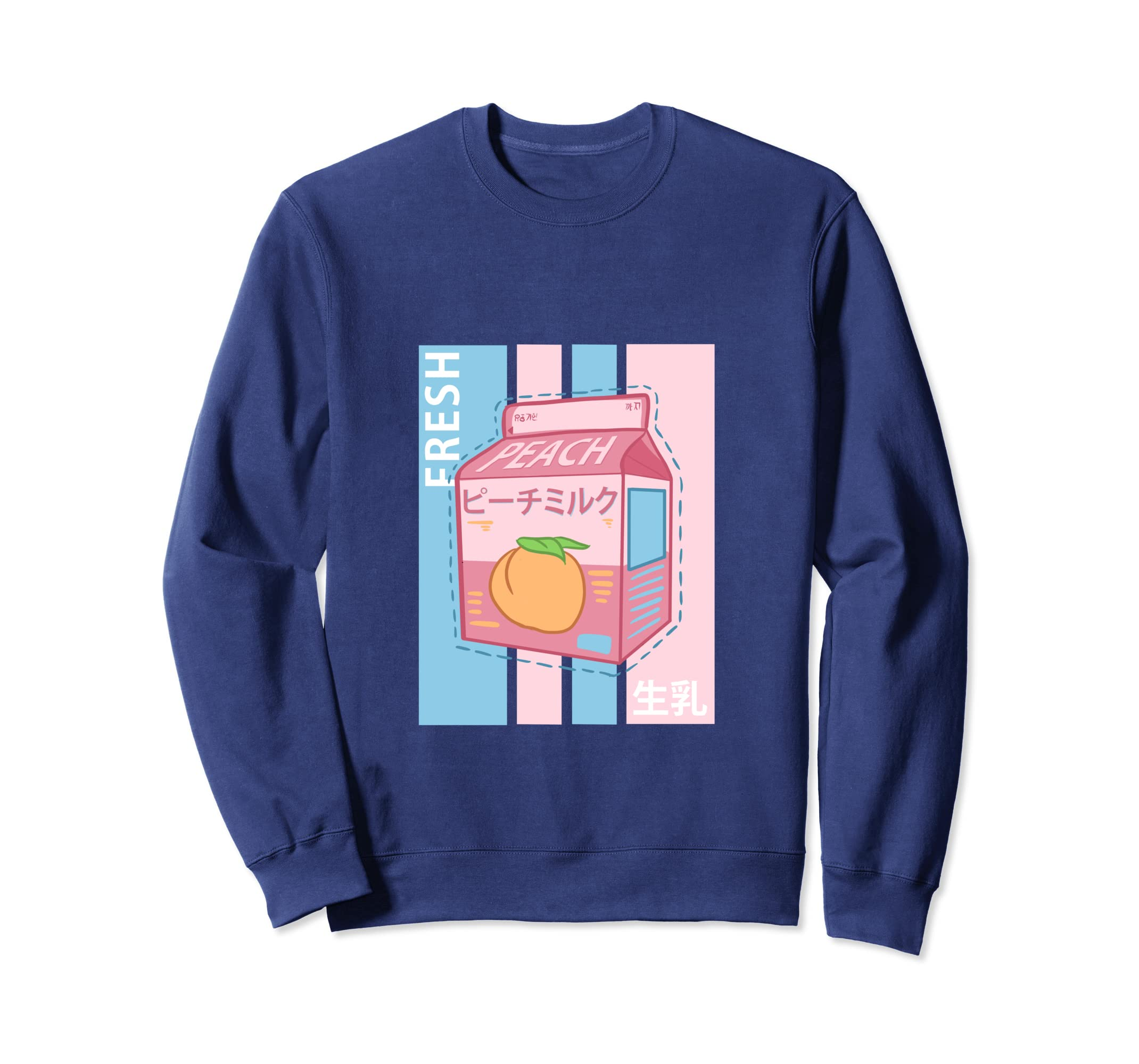 Amazon com: Japanese Retro Milk Anime Sweatshirt Women Girls