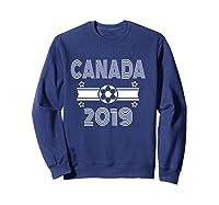 Retro Canada Soccer Team 2019 Shirts Sweatshirt Navy