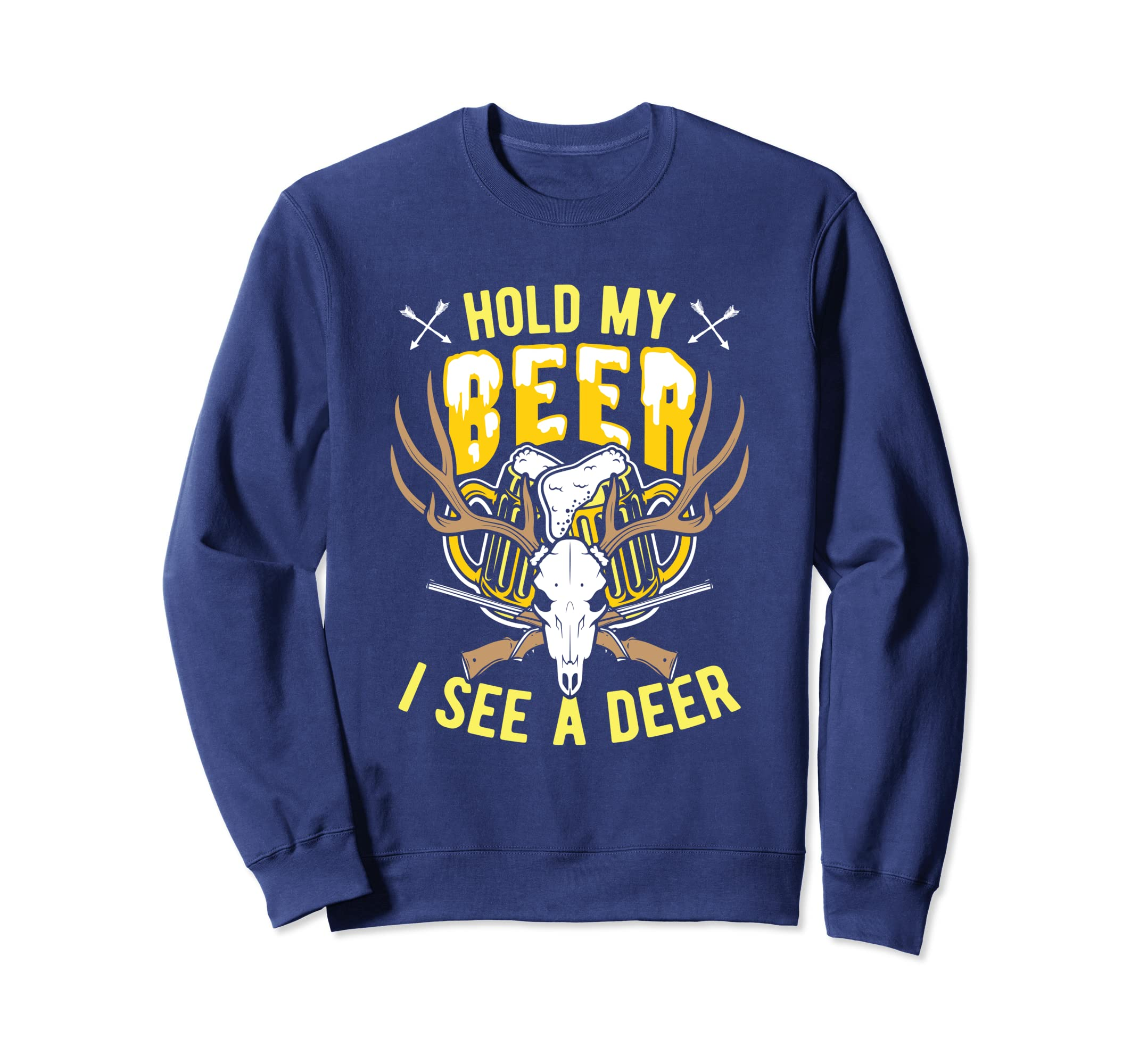 1d4cf289 Amazon.com: deer hunting hold my beer i see a deer t shirt: Clothing