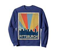 Classic Pittsburgh Shirts Sweatshirt Navy