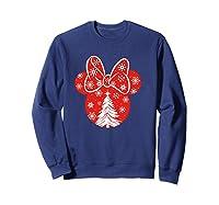 Disney Minnie Tree T Shirt Sweatshirt Navy