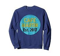 Cafe Martin T-shirt V1.4 Sweatshirt Navy