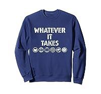 Marvel Avengers: Endgame Whatever It Takes T-shirt Sweatshirt Navy