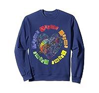 Chameleon Karma 80 S Pride 1980 S Pop Club Culture Peace Shirts Sweatshirt Navy