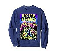 Doctor Strange Mystic Arts Neon Graphic Shirts Sweatshirt Navy