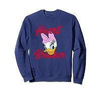 Disney Daisy Heartbreaker T Shirt Sweatshirt Navy