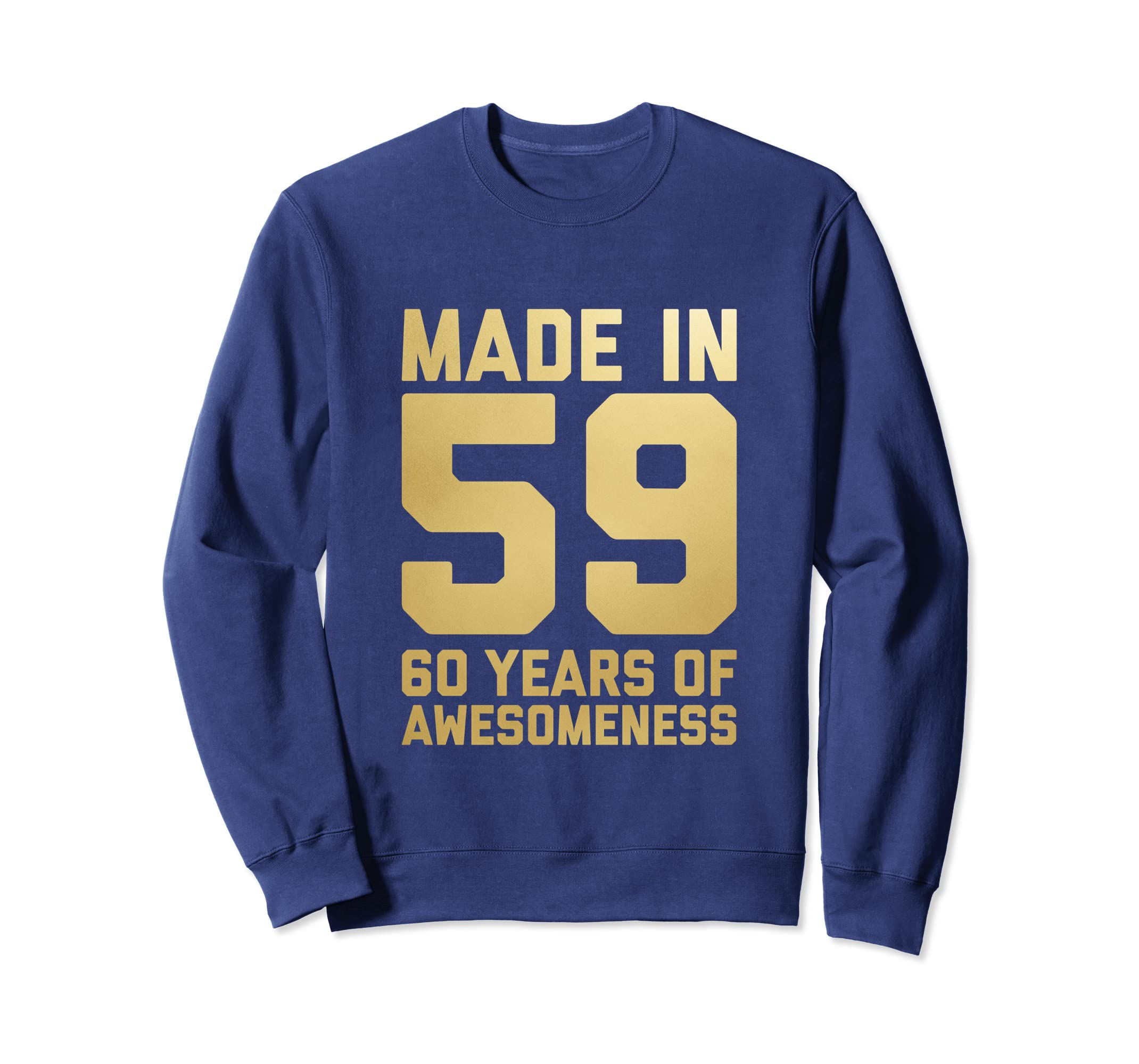 Amazon 60th Birthday Sweatshirt Grandpa Age 60 Year Old Men Gifts Clothing