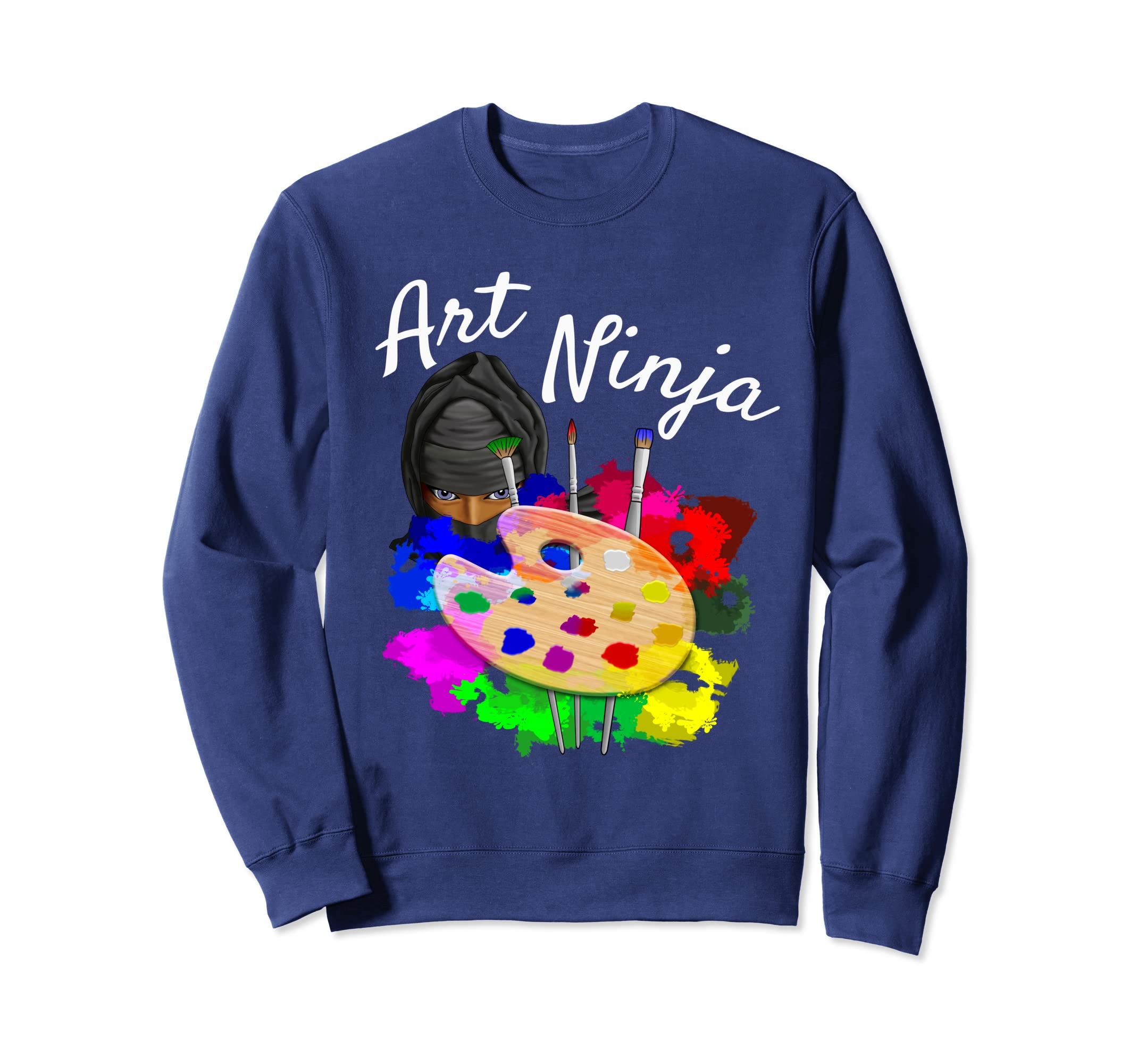 Amazon.com: Art Ninja Artist Sweatshirt: Clothing