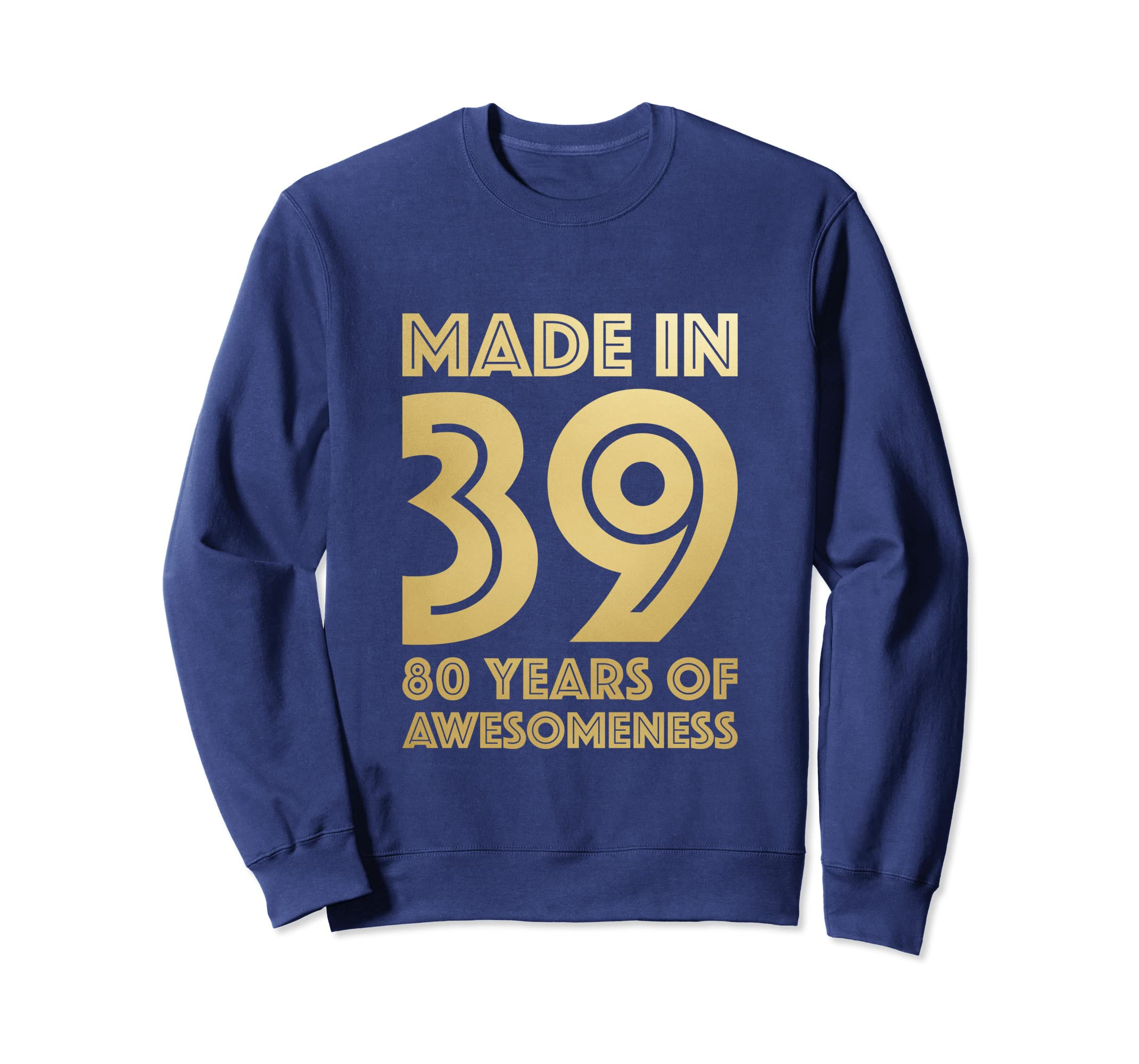 Amazon 80th Birthday Sweatshirt Grandma Age 80 Year Old Women Gifts Clothing