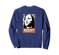 Kamala Resist Shirts Sweatshirt Navy