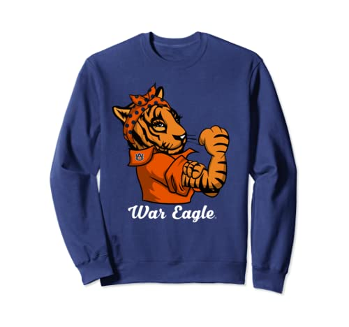 Auburn Tigers Strong Mascot   Tiger   Apparel Sweatshirt