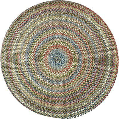 Chelsea Round Rug, 4-Feet, Peridot