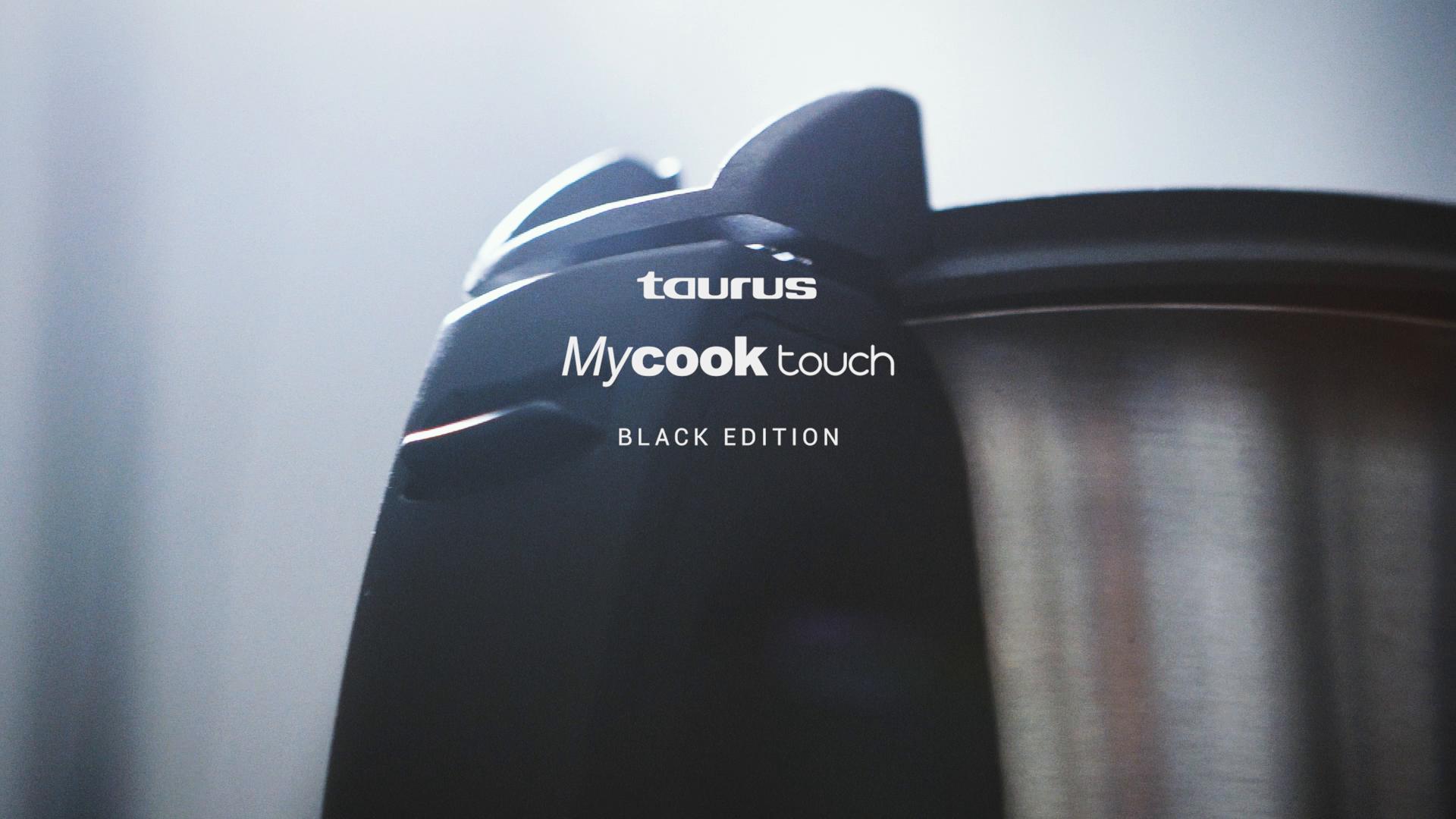 Taurus Mycook Touch Black Edition, 1600 W, 2 litros, 0 Decibelios, Plástico|Acero Inoxidable, 10 Velocidades, Negro: Amazon.es: Hogar