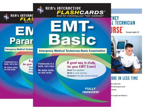 EMT Test Preparation (5 Book Series)