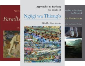 Approaches to Teaching World Literature (43 Book Series)