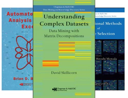 Chapman & Hall/CRC Data Mining and Knowledge Discovery Series (45 Book Series)