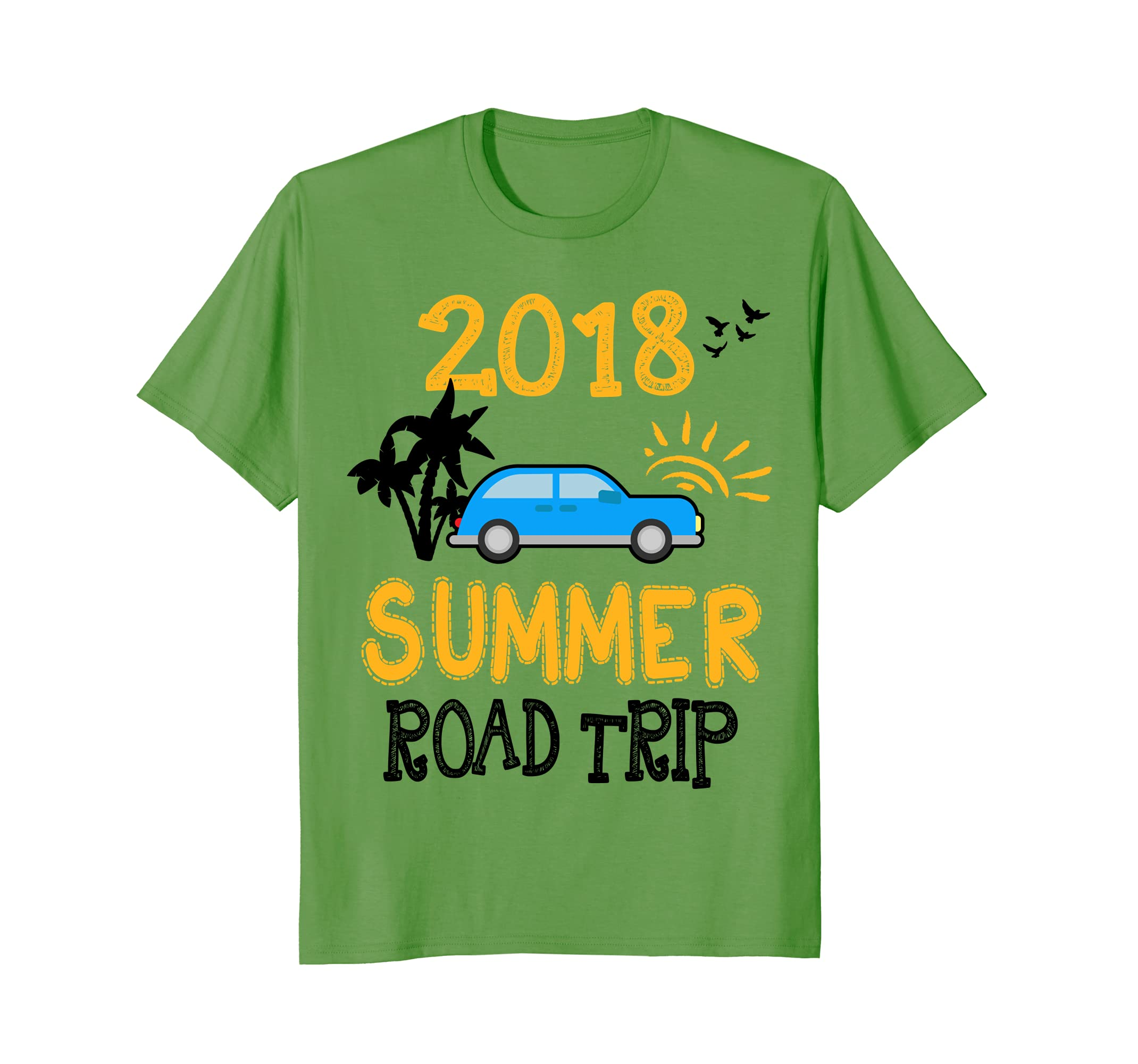 6ef6a43b80198 Amazon.com  Matching Family Summer Road Trip Vacation 2018 T-Shirt  Clothing