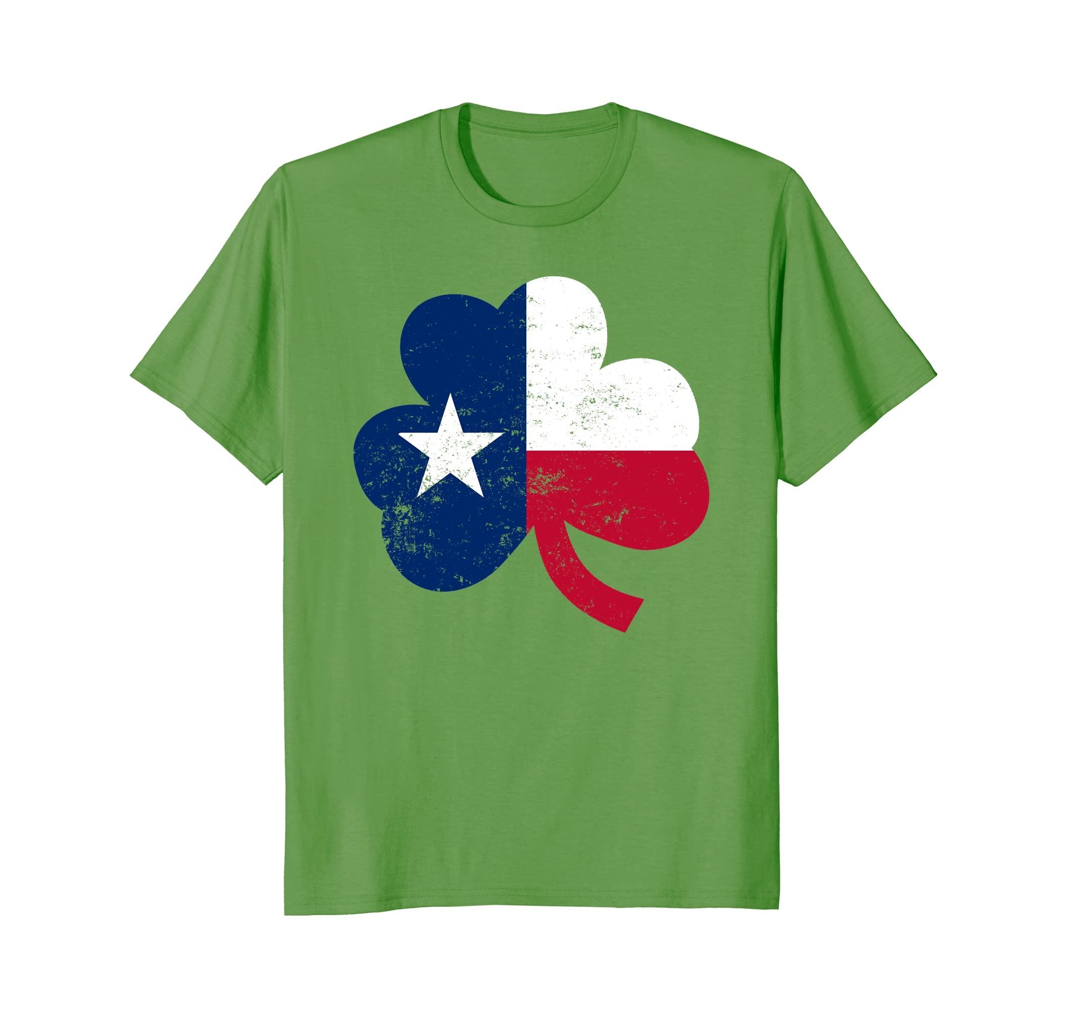 Shamrock Texas Flag Saint Patricks