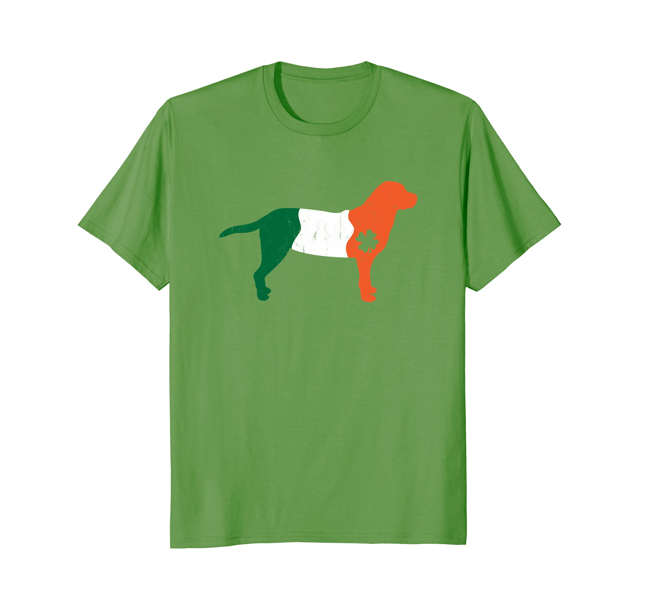 Irish Labrador Retriever Dog Saint Patrick's Day Gift Shirt-AZP