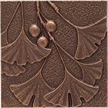 Whitehall Products Gingko Leaf Wall Decor, Antique Copper