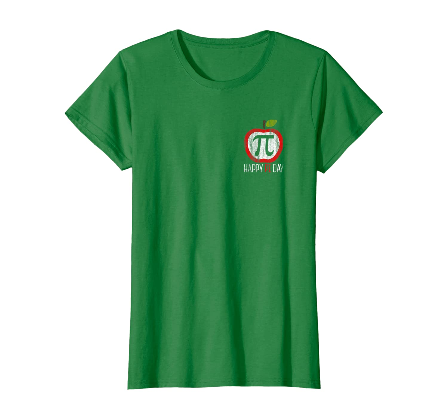 Apple Pi Shirt: Math, Science Happy Pi Day Pocket Shirt