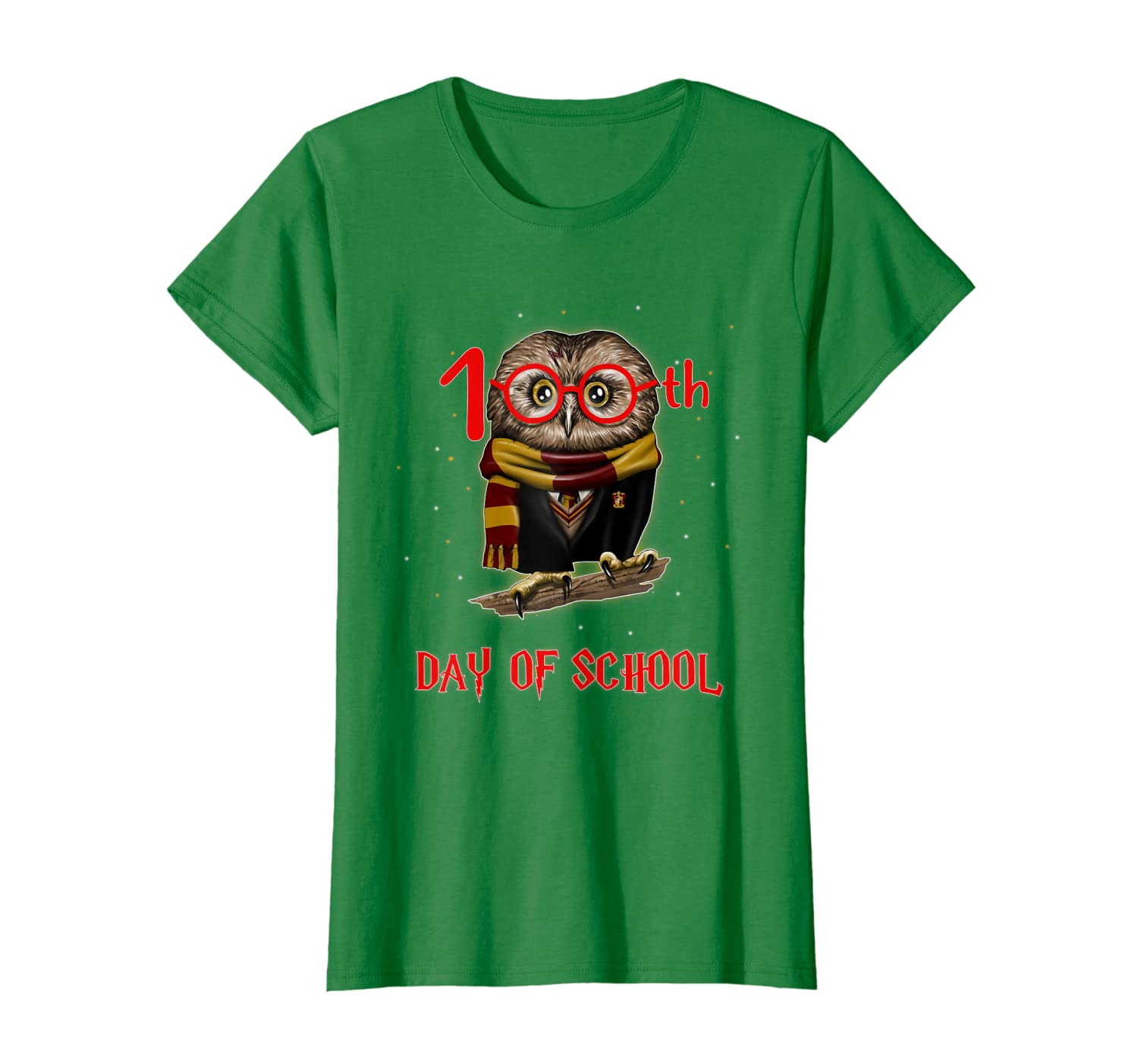 100th Day of School Owl Shirt Teacher Student Kids Gift T-Shirt Unisex Tshirt