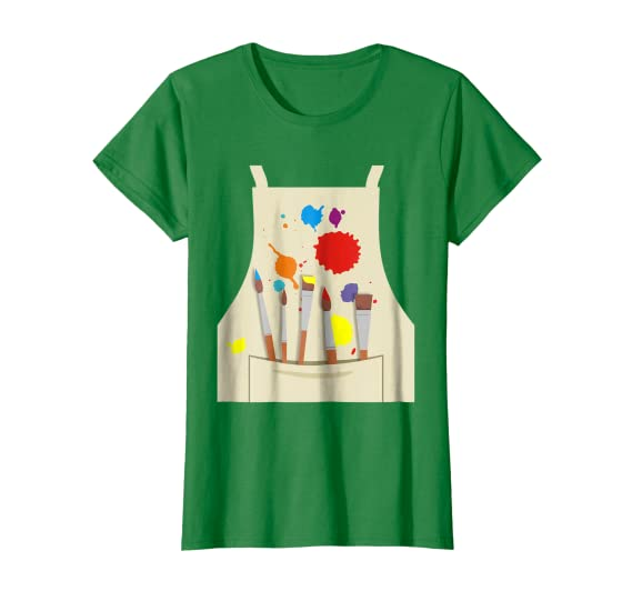Amazon.com: Disfraz de artista divertido camiseta para ...