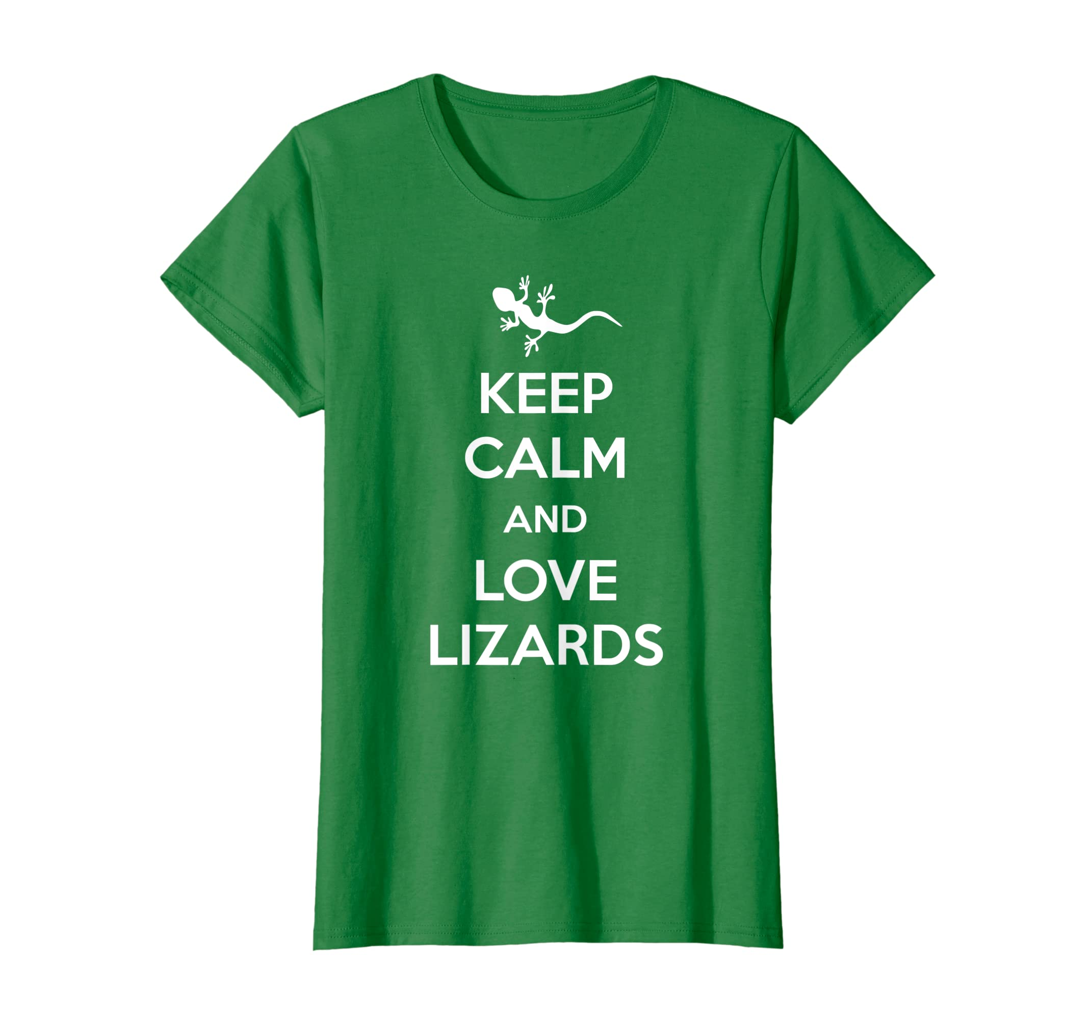 030aa0437 Amazon.com: Funny Lizard Shirt   Keep Calm and Love Lizards T-Shirt:  Clothing