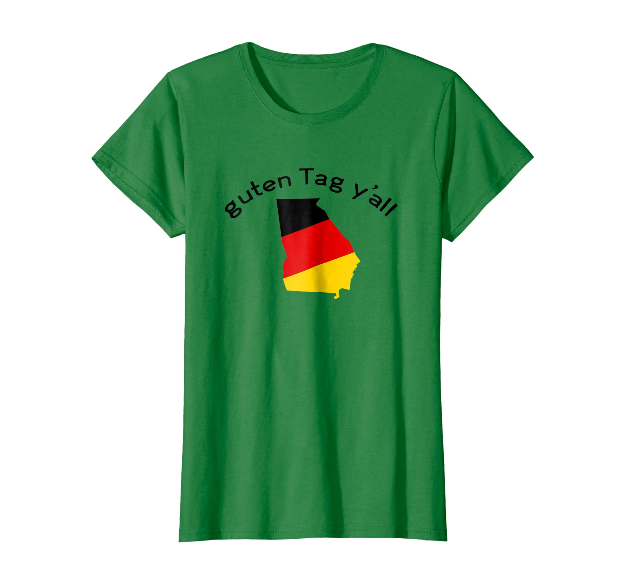 08085a87 Amazon.com: Guten Tag Y'all Helen GA Georgia Funny Oktoberfest T-Shirt:  Clothing