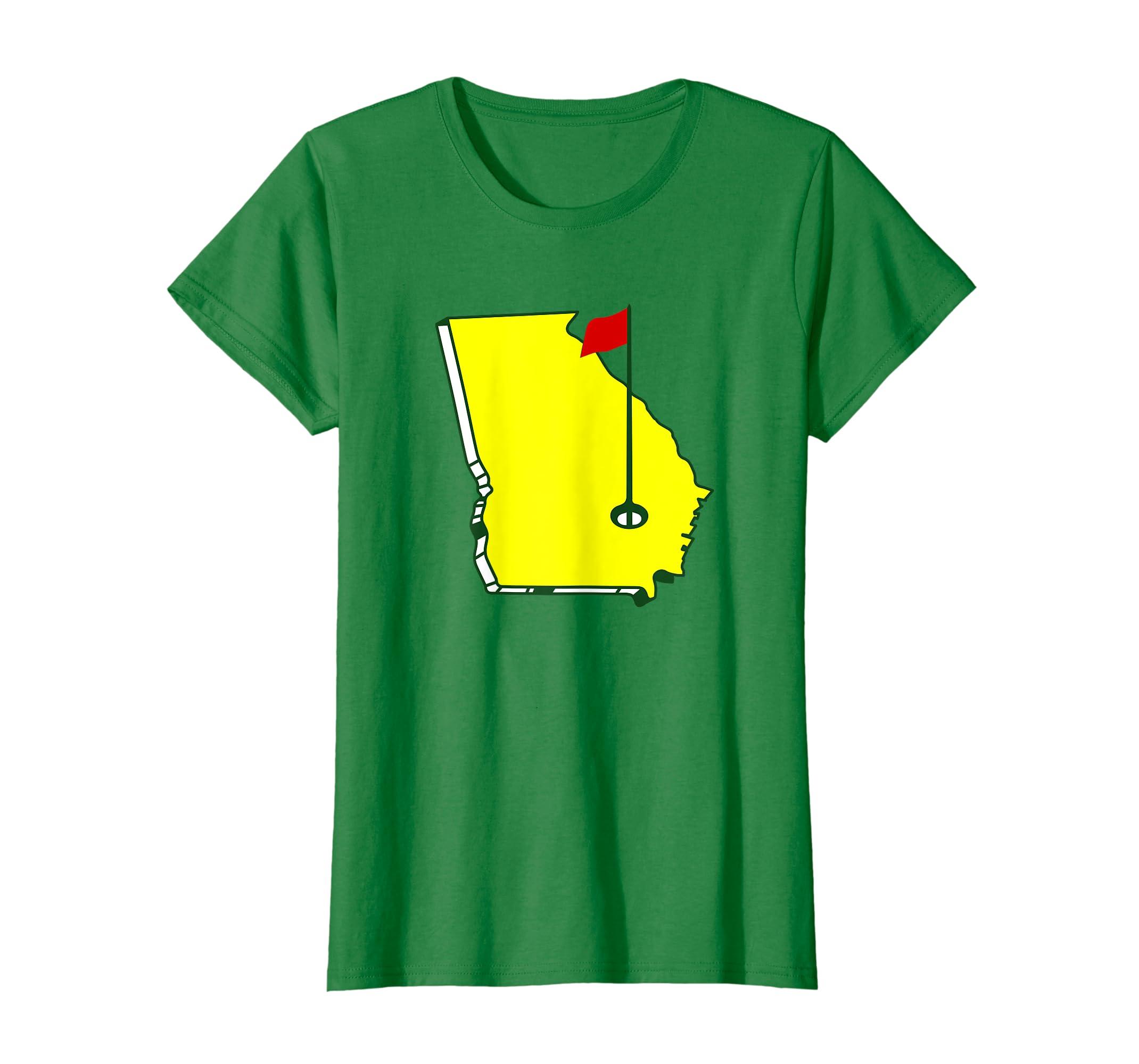 e097970b Amazon.com: Master Golf T-Shirt Georgia State: Clothing