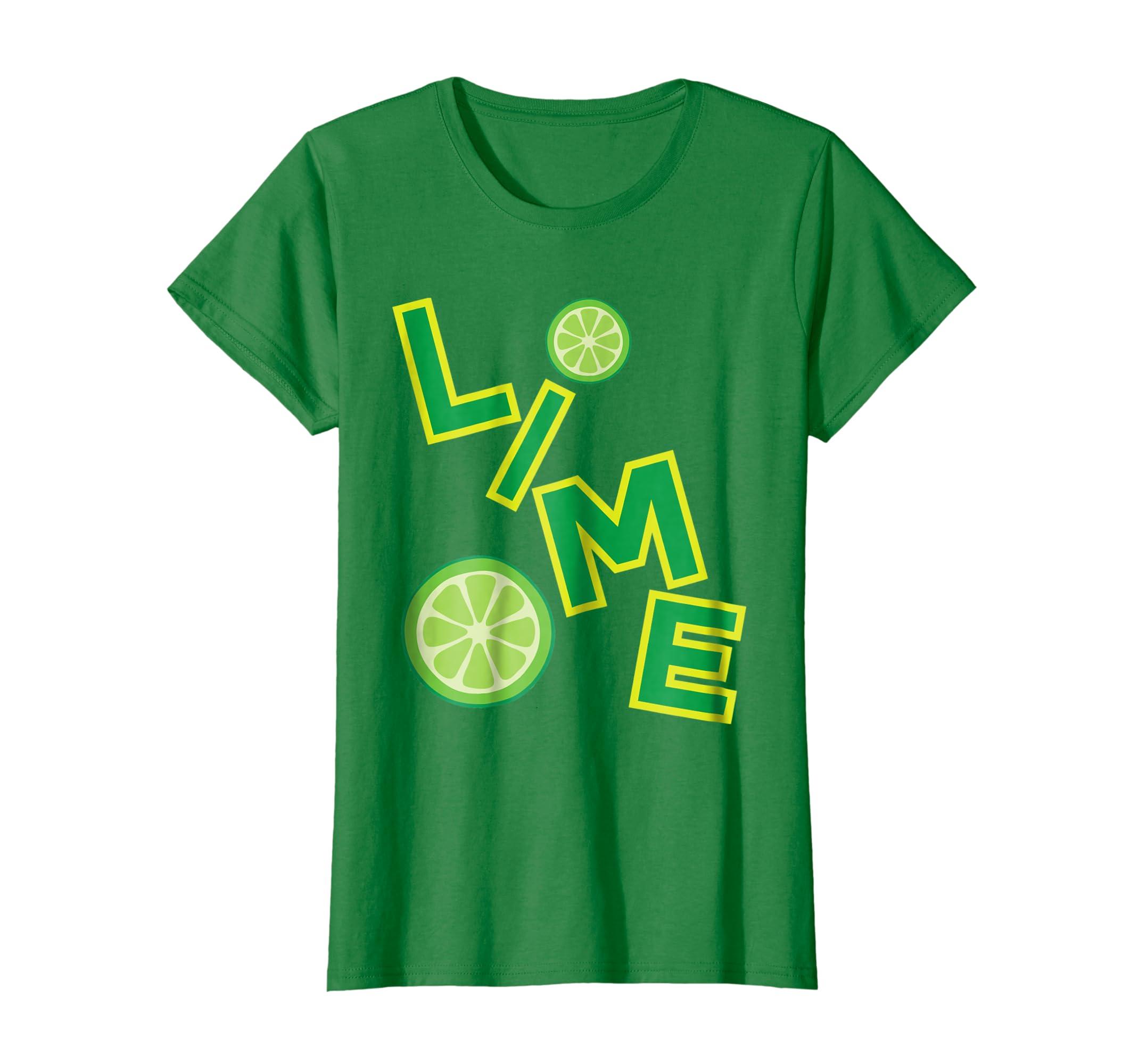 Lime Salt Tequila Halloween Costume T Shirt Group Matching-Colonhue
